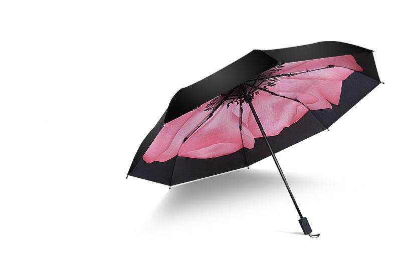 Ô dù cầm tay cao cấp Hongkong chống tia UV hoa giai nhân